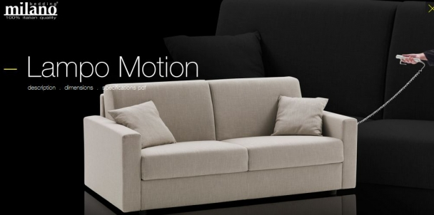 Диван Bedding Lampo Motion STP.45.MO